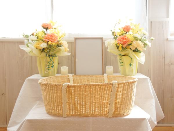 ご自宅用お見送り祭壇の設置イメージ